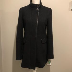 Banana Republic Wool Zip Coat